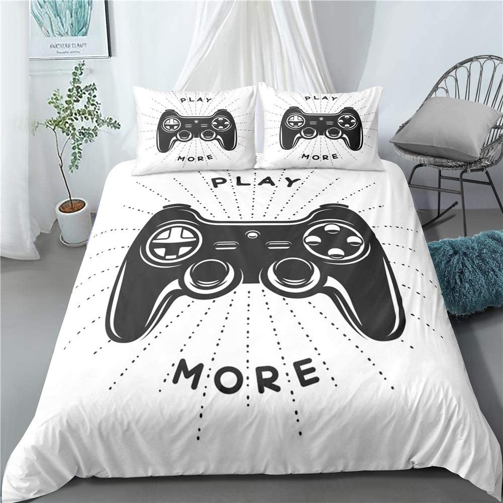 Xlyasky Cartoon favorite Animation Duvet Cover Console Game Printing 100% quality warranty 3D