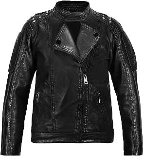 teenager boy leather jacket
