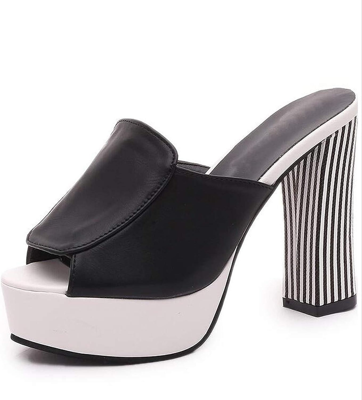 2018 Fashion Sexy High Heels Summer Platform Open Toes 12cm Slipper Women Wedges Sandals