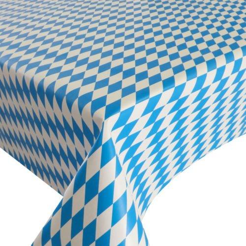 d-c-fix Partytischdecke Lackfolie 100 x 250 cm Farbe wählbar Bayrische Raute abwaschbare Tischdecke