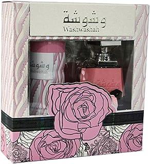Lattafa Washwashah Women's Perfume, 100 ml + Deo, 200 ml Gift Set
