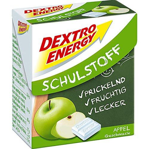 12 Boxen a 50g Dextro Energy Schulstoff Apfel Traubenzucker Appel