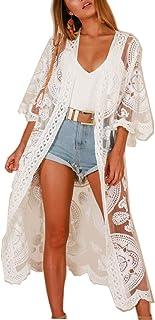 Women Swimsuit Cover Up Bathing Suit Kimono Long Beach...