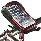 QiFun 15,2cm étanche Vélo téléphone Support de Fixation avec WaterResistant Cyclisme Sac de...