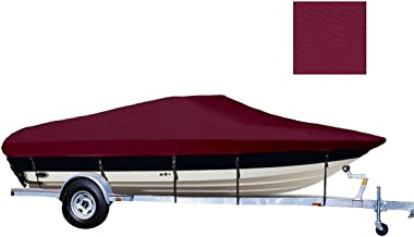 TLSBU 6.25 oz SEMI-Custom Boat Cover for BAYLINER Capri 1954 CW I/O 1993-1998