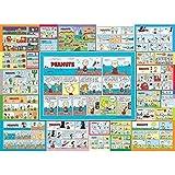 VGFTP Snoopy Anime Puzzle 1000 Piezas, Rompecabezas de Madera, Rompecabezas de Bricolaje, Entrenamiento artístico para Adultos, niños, Juegos - Dibujos Animados