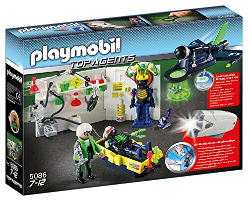 Playmobil 5086 Top Agents: Laboratory with
