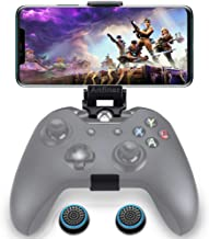 WEPIGEEK Foldable Controller Mobile Phone Holder/Cellphone Clamp/Clip Compatible with Microsoft Xbox One/Xbox One S/Steelseries Nimbus/SteelSeries Stratus XL/Steam Controllers(not Controller