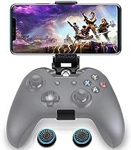 کنترل کننده انعطاف پذیر Anfiner دارنده تلفن همراه / گیره / کلیپ تلفن همراه سازگار با مایکروسافت Xbox One / Xbox One S / Xbox One X / Steelseries Nimbus / SteelSeries Stratus XL / Steam Controllers