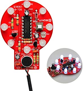 Gikfun Sound and Light Control Delay Lamp Practice Soldering Board Kit DIY for Arduino EK1948