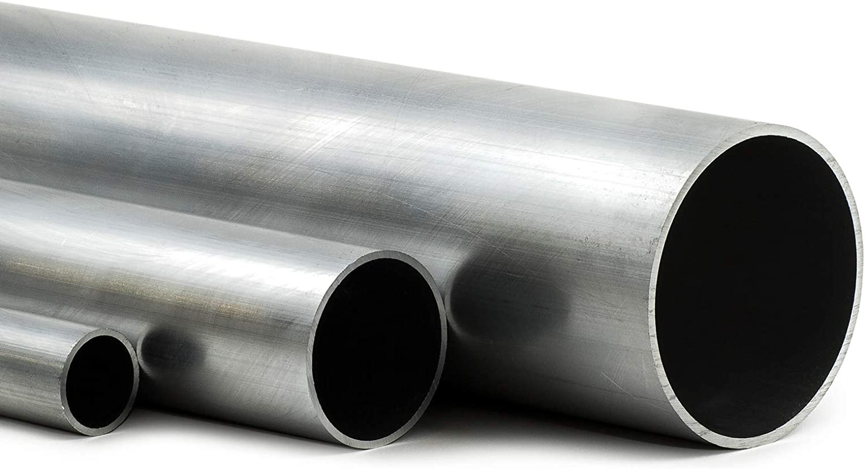 35cm auf Zuschnitt Aluminium Rundrohr AlMgSi05 /Ø 55x5mm L/änge 350mm