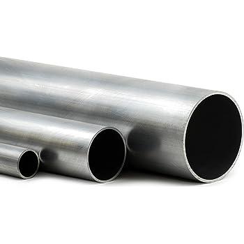 100cm auf Zuschnitt L/änge 1000mm Aluminium Rundrohr AlMgSi05 /Ø 42x2mm