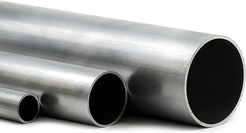 L/änge 500mm 50cm auf Zuschnitt Aluminium Rundrohr AlMgSi05 /Ø 32x1,5mm
