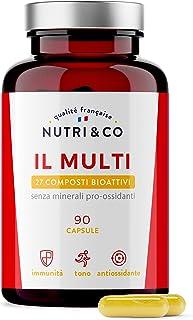 Multivitaminico Multiminerale   27 Composti Bioattivi   Zinco Magnesio Vitamine A B C D3 E K2   Minerali Alto Assorbimento...