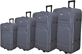 New Travel Luggage Trolly Br1001-4p Grey