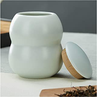 Cremation Urn Funeral Ash Storage Box Mini Cremation Urns Pet Decorative Urns Funeral Urn Commemorative Box Celadon Storag...