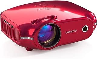 Crenova Projector, Home Video Projector, Portable Mini Movie Projector with 3200 Lux, 200