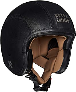 Royal Enfield Black Open Face Helmet Size (L)60 CM (RRGHEI000057)