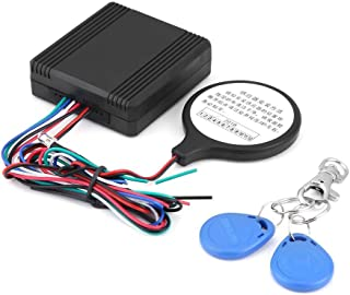 Motorcycle Anti-theft Alarm, Motorcycle ID Card Lock Anti-theft Security Alarm System Smart Induction Invisible Alarm Sensor Immobiliser Device