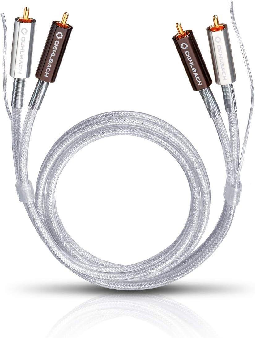 Oehlbach Silver Express Plus 50 Erstklassiges Stereo Elektronik