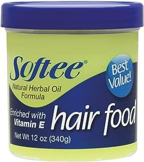 Softee Hair Food with Vitamin E 12 oz.