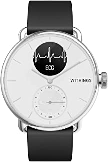 Withings ScanWatch - Hybrid Smartwatch with ECG, Heart Rate and Oximeter