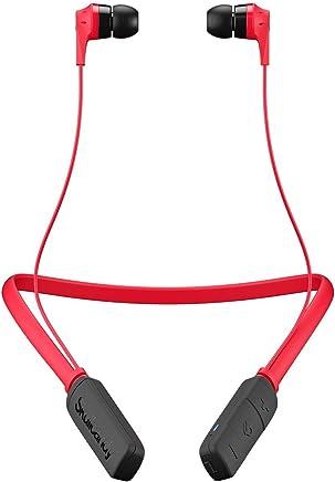 Skullcandy INKD Inalámbrico/a, Bluetooth, ligeros, control y microfono, 8 horas de batería, color rojo