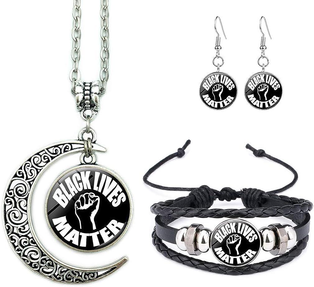 BLM Jewelry Black Lives Matter Bracelet BLM Bracelet Black Lives Jewelry