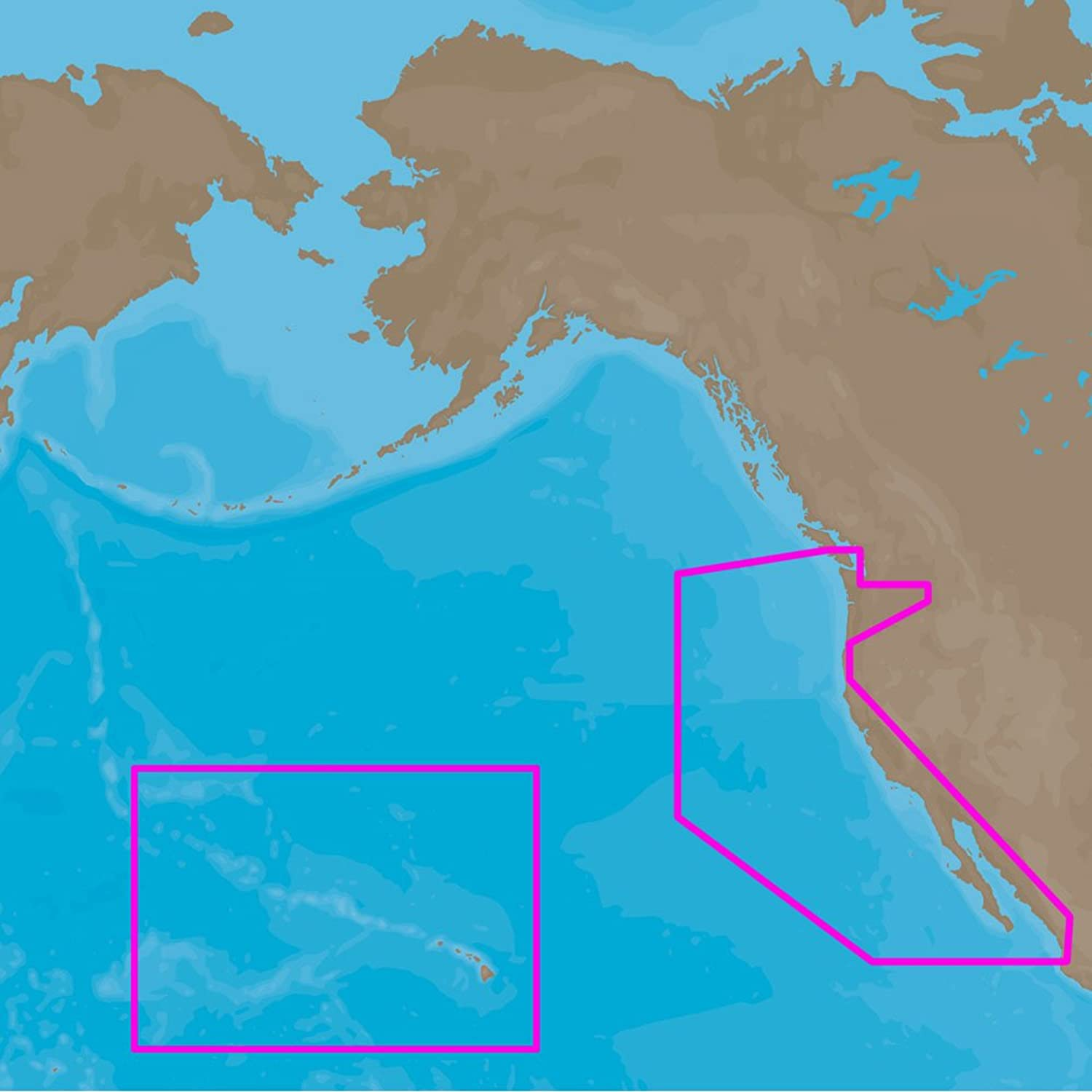 CMap 4D NaD024 Full Usa West Coast And Hawaii