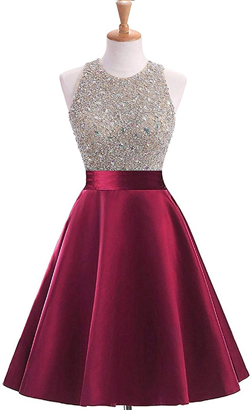 Women's Sequined Keyhole Back Charlotte Mall Evening Beaded Gowns New popularity Party Formal
