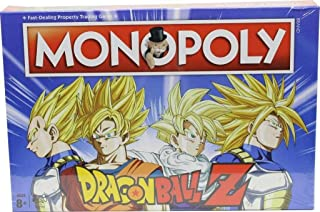 Monopoly Dragon Ball Z - Bordspel - Speciale Monopoly uitgave in de stijl van Dragon Ball Z - Voor de hele familie - Taal:...