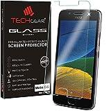 TECHGEAR Moto G5 Verre, Protecteur d'Écran Original en Verre Trempé Compatible pour Motorola Moto...