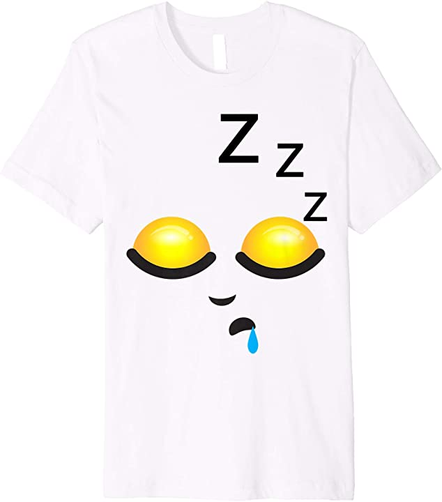 ZZZ Shirt | Funny Weary Tired Smiley Emojis T-shirt Gift
