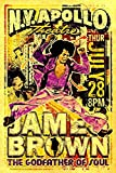 KODY HYDE Metall Poster - James Brown Concert - Vintage