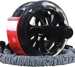 Fitnessapparatuur Abdominale Wheel Fitness Roller Mute Weight Loss fitnesstoestellen Red Draagbare Multi-functioneel manne...