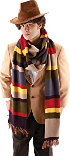 Morris Costumes Men's Doctor WHO 4TH DR. Long Scarf, 12 feet
