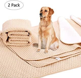 NeatoTek 2 Pack Reusable Waterproof Dog Pet Pee Pads. Anti Slip Large Size(39