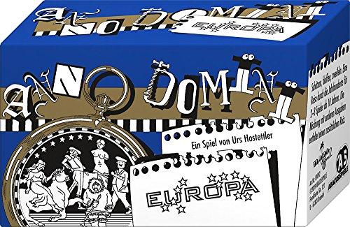 ABACUSSPIELE 09092 - Anno Domini - Europa, Quizspiel, Kartenspiel