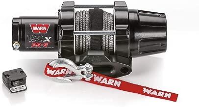 Warn Winch 2500 Synthetic VRX 25 Kit [Includes Heavy Duty Winch Saver]