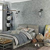 セメント壁壁紙、ヴィンテージ平野まだらデカールリビングルームの寝室バー衣料品店壁画アートの装飾壁布 (Color : C)