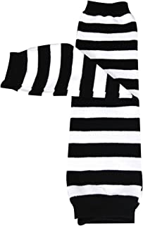black and white striped leggings baby