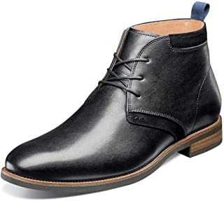 فلورشايم Uptown Plain Toe Chukka Boot Men's Boot 11 D(M) US أسود