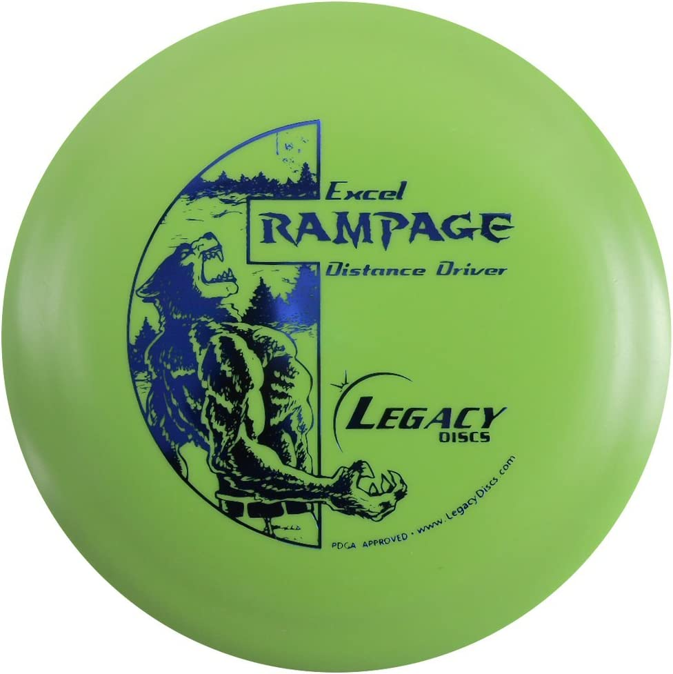 Legacy Los Angeles Mall Discs Excel Edition Rampage Golf Distance Disc Driver Co Ranking TOP10