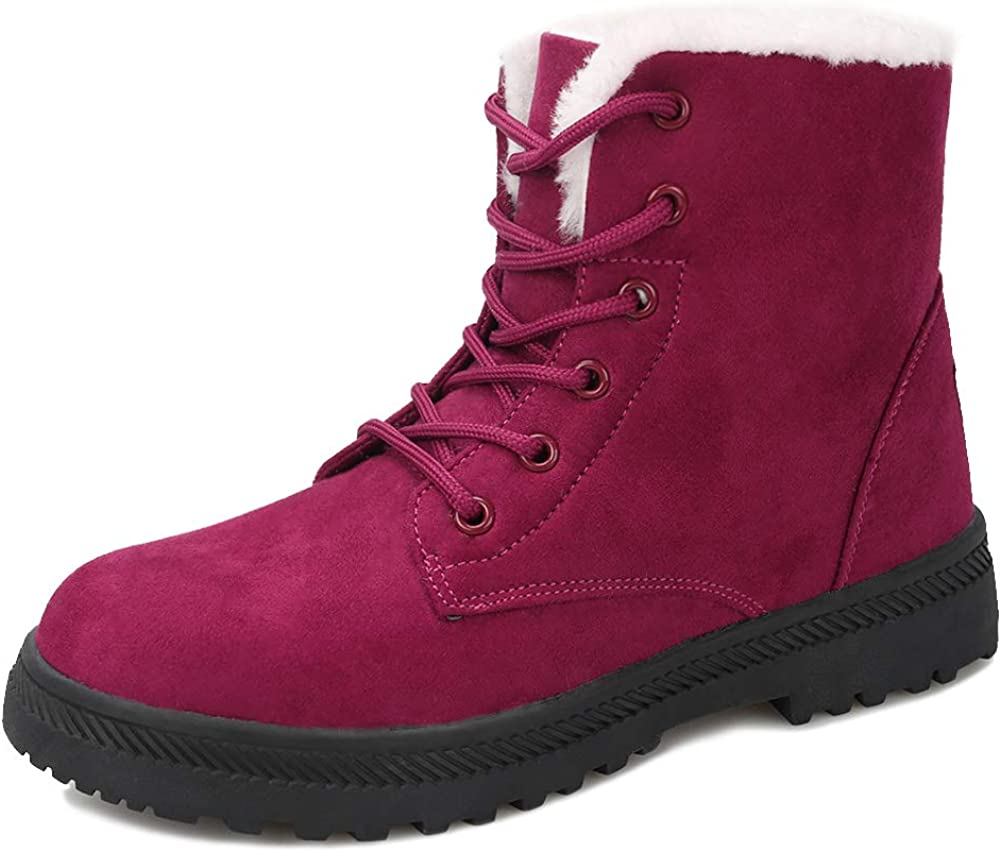 Winter Snow Boots for Women Super sale Outdoor Comfortable Anti-Slip Ankle Ultra-Cheap Deals