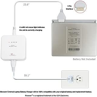Morewer (TM) External Laptop Battery Charger for Apple MacBook 13