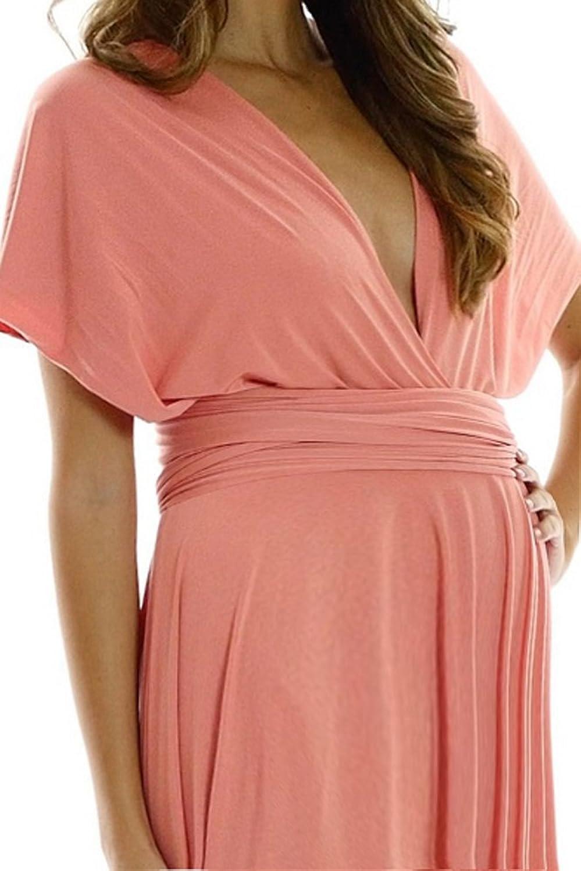 Belly Envy Women's Mix It Maternity Dress