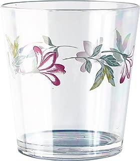 Reston Lloyd 76214SET Corelle Coordinates Pink Trio Acrylic Drinkware Set Rock Glass