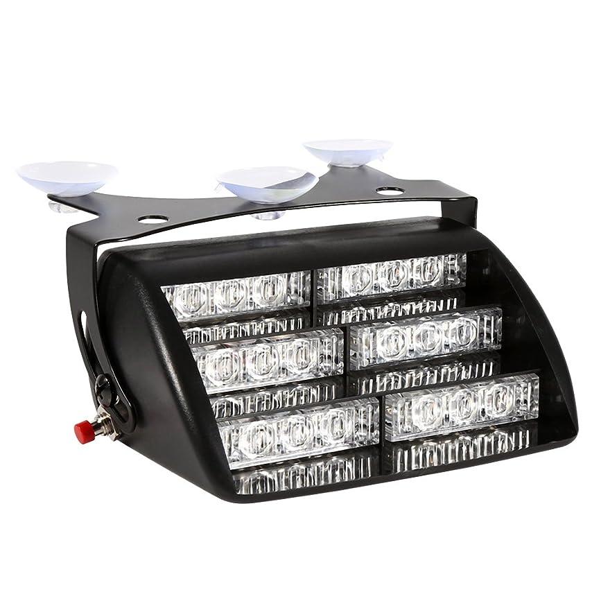 ニンニク薄めるムスタチオQiilu LEDストロボフラッシュライト 非常灯 警告ライトランプ 3点滅モード 12V(黄光)