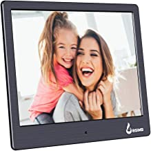 BSIMB Digital Picture Frame Digital Photo Frame 8 Inch 1024x768 (4:3) Hi-Res LED Display Electronic Photo Frame with Remote Control Support USB Stick/SD Card M12