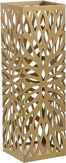 Maison et Mas Parapluie métallique doré, porte-parapluie doré avec design original et moderne. Deux modèles différents. 1...